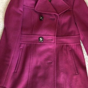 Jackets & Blazers - Magenta color coat